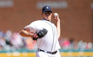 Detroit Tigers Place Starting Pitcher Kyle Lobstein (Shoulder) On 15-Day Disabled List