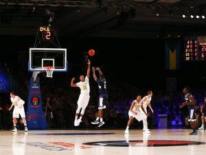 No. 18 Connecticut Huskies Score Early And Often To Defeat Michigan Wolverines In Bahamas
