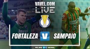 Resultado Fortaleza x Sampaio pelas semifinais da Série C 2017 (1-0)