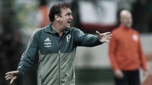 """Cuca comemora vitória sobre Inter, mas ressalta: """"Poderia ter sido melhor"""""""