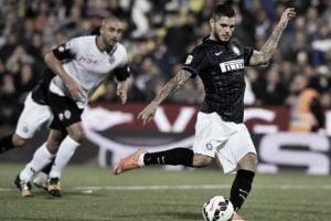 Resultado Inter de Milán vs Cesena en la Serie A 2015 (1-1)