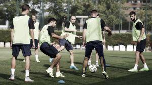 Nueva sesión de entrenamiento antes de recibir al Málaga
