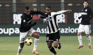 Resultado Inter de Milán vs Udinese en la Serie A 2014 (1-2)