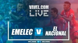 Resultado Emelec 2-1 El Nacional en Liga Ecuador 2017