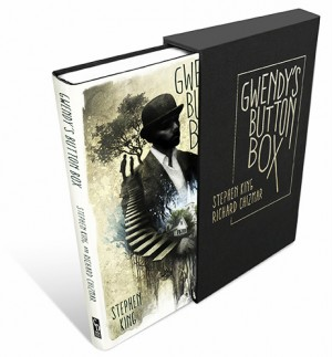 """Gwendy's Button Box"" novo livro de Stephen King e Richard Chizmar tem capa revelada"