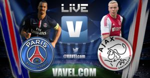 PSG-Ajax Amsterdam en direct commenté : suivez le match en live