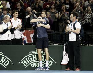 Reino Unido surpreende Estados Unidos e França abre vantagem fora de casa pela Copa Davis