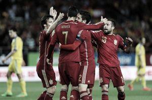 Espanha não atua bem, mas derrota Ucrânia pelas Eliminatórias da Euro 2016