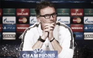 "Laurent Blanc: ""El PSG no es favorito"""