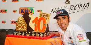 Dakar 2014: Nani Roma y Andrey Karginov rozan la victoria final