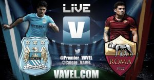 Manchester City vs Roma Live Stream and Score of UCL 2014
