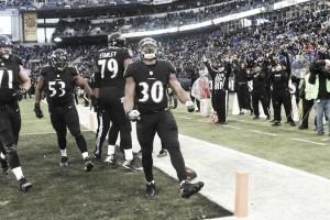 Agónica victoria de los Ravens para seguir dependiendo de si mismos