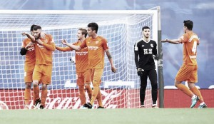 Málaga bate Real Sociedad, vence primeira fora de casa e aumenta pressão da equipe basca