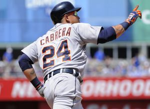 Miguel Cabrera And Detroit Tigers Split Series With Kansas City Royals After Game 4 Victory
