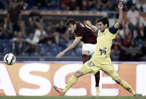 Resultado Chievo Verona vs Roma en la Serie A 2015 (0-0)