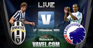 Live Juventus - Copenaghen, diretta della partita di Champions League