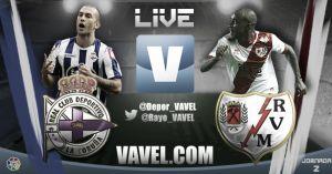 Deportivo de la Coruña VS Rayo Vallecano en vivo y en directo online