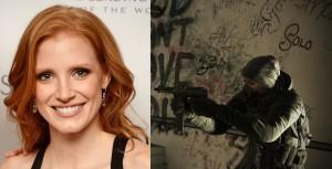 """Jessica Chastain será la protagonista femenina de la adaptación del videojuego """"Tom Clancy's The Division"""""""