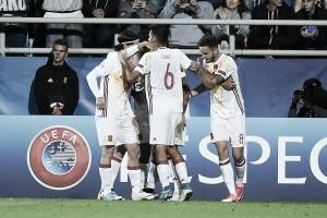 Espanha é mais eficiente, vence Portugal e avança às semifinais do Europeu Sub-21