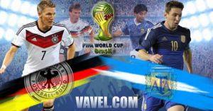 Germania vs Argentina, a voi il Mondiale