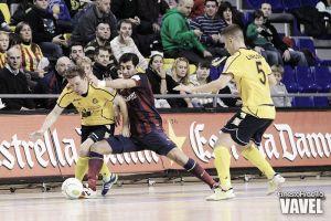 Apuros del Barcelona para doblegar al Colegios Arenas