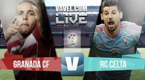 Resultado Granada vs Celta de Vigo (1-1)