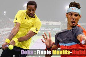 Terminé : Suivez en direct le finale Gaël Monfils - Rafael Nadal [Doha, ATP 250]