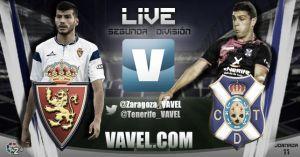 Real Zaragoza - Tenerife en directo online