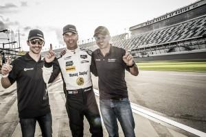 Christian Fittipaldi e Felipe Nasr na briga pela vitória nas 24 Horas de Daytona