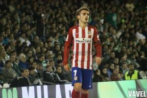 Griezmann cumple 50 partidos con el Atlético de Madrid en Liga