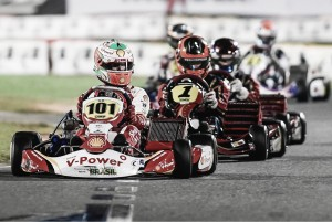 Gianluca Petecof sofre acidente no final do Brasileiro de Kart em Penha