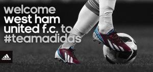 West Ham firma con Adidas