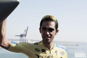 """Alberto Contador: """"Bennati se llama locomotora. Es impresionante"""""""