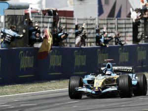 Previa histórica GP de España 2006: Fernando Alonso I de España