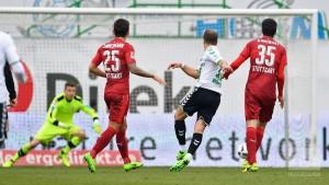 SpVgg Greuther Fürth 1-0 VfB Stuttgart: Berisha strike secures three points for Fürth