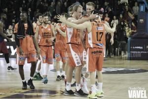 El Valencia Basket asalta el Palau y cierra una primera vuelta histórica