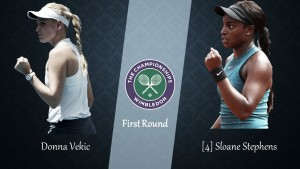 Wimbledon First Round Preview: Donna Vekic vs Sloane Stephens