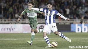 Real Sociedad - Elche: puntuaciones jornada 13 Real Sociedad