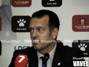 """Jesús Velasco: """"Me voy contento, el objetivo era ganar y lo hemos conseguido"""""""