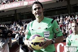 Velasco Carballo será el árbitro del Málaga CF - Deportivo de La Coruña