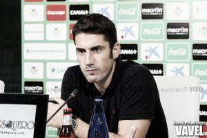 """Julio Velázquez: """"Afrontamos el partido con una mentalidad muy positiva"""""""