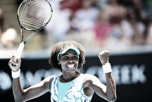 Venus Williams regresa por la puerta grande a los Octavos de Final