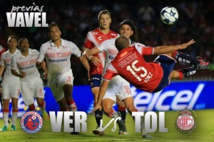 Previa Veracruz - Toluca: por el liderato del Grupo 8 de la Copa MX