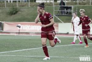 Festival de goles frente a Montenegro de la Selección Femenina