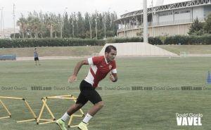El Almería trabaja la resistencia física de sus jugadores