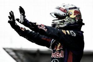 Récord y victoria de Vettel en Interlagos
