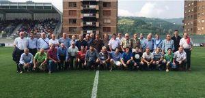 El Eibar podría hacer un homenaje a los veteranos del club