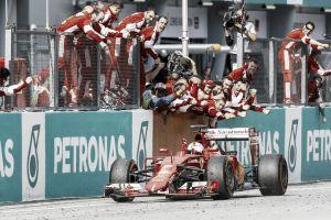 Vettel afirma que vitória na Malásia foi uma das melhores da carreira