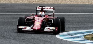 Sebastian Vettel sigue al frente en los tests de Jerez