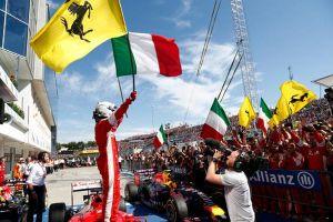 Sebastian Vettel vence en el caos de Hungría